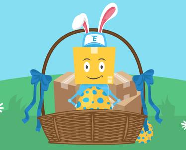 Gjuetia e vezëve të Pashkëve!
