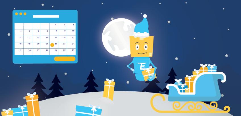 Pushimet zyrtare dimërore dhe orari i shpërndarjeve në Krishtlindje